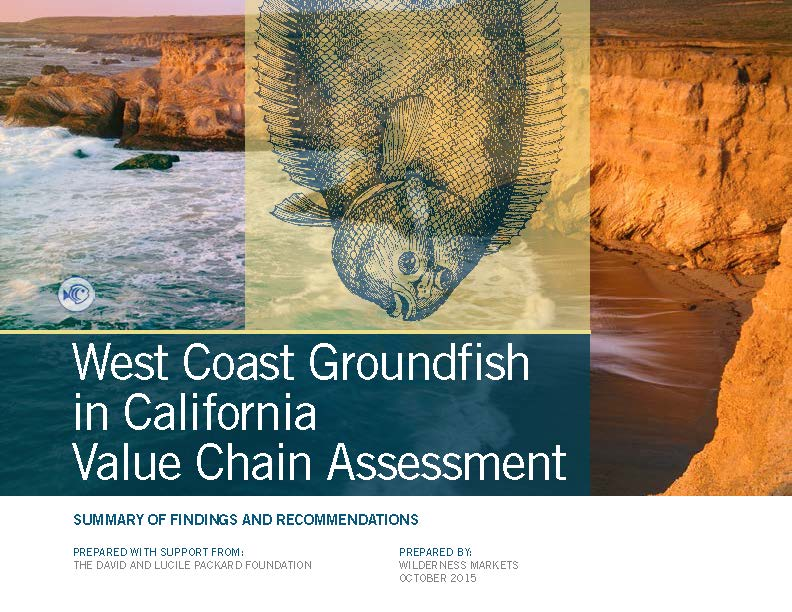Wilderness Markets West Coast Groundfish in California VC Assessment Final Dec 2015_Page_01